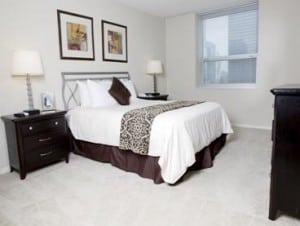 Furnished Bedroom